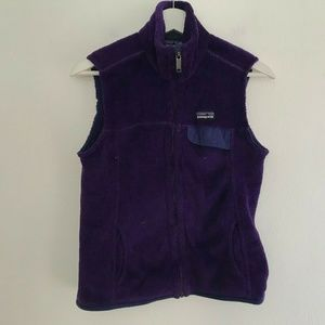 Patagonia Size Small Women's Re Tool Fleece Vest